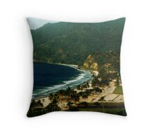 Maracas Bay Throw Pillow