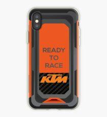 Vinilo o funda para iPhone Carreras de KTM