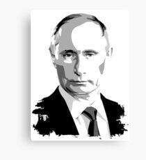 Putin The President Of Russia  Canvas Print