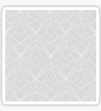 Geometric grey Sticker