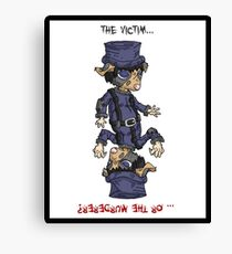 detective bottombee: the victim... or the murderer? (flip edition) Canvas Print