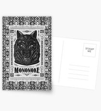 Pride of the Forest Wolf Mononoke Geek Line Artly Postcards