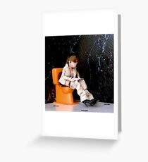 Reading in peace Greeting Card