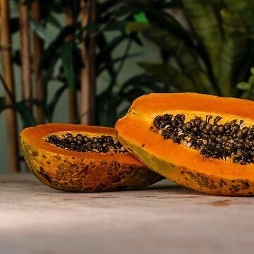 Gehackte Papaya oder Papaya geschnitten? von drubdrub