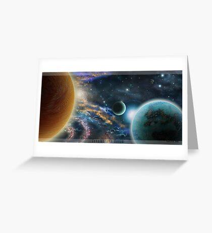 Tanatos and Danae Greeting Card