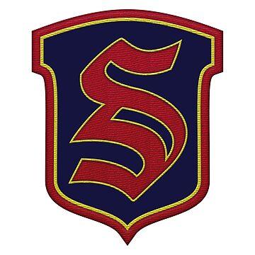 Legacies - Salvatore Boarding School Crest by BadCatDesigns