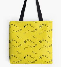 Lemon shooting stars Tote Bag