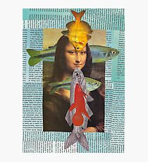 fish lisa for Andy Photographic Print