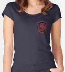 Legacies - Salvatore Boarding School Crest Women's Fitted Scoop T-Shirt