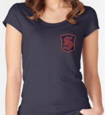 Legacies - Salvatore Boarding School Crest Fitted Scoop T-Shirt