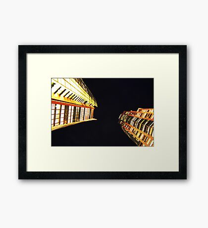 Twins - Not Identical - Sydney - Australia Framed Print