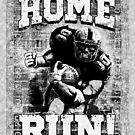 Home Run Football Player by MudgeStudios