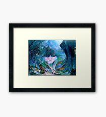 Genesis Flood Dove Framed Print