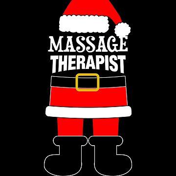 Massage Therapist Mrs. Santa Claus by customshirtgirl