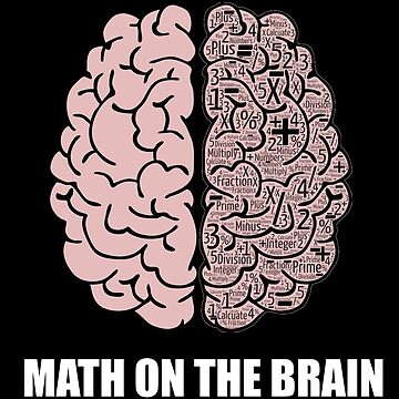 Math Brain by customshirtgirl