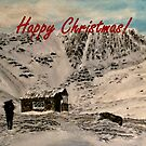 Scottish Highlands Christmas Card by EuniceWilkie