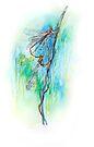 Damselflies - Fly Fisher Series 2 by Pieter Zaadstra