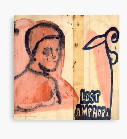 lost amphora Canvas Print