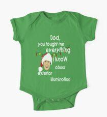 Clark Griswold Weisheit Baby Body Kurzarm