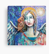 That whispered guidance Metal Print