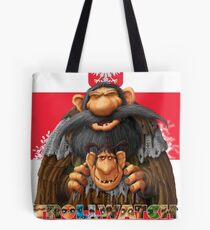 Bartek and Barta the Swamp Trolls Tote Bag