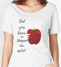 Did you know that Shinigami love apples? Women's Relaxed Fit T-Shirt