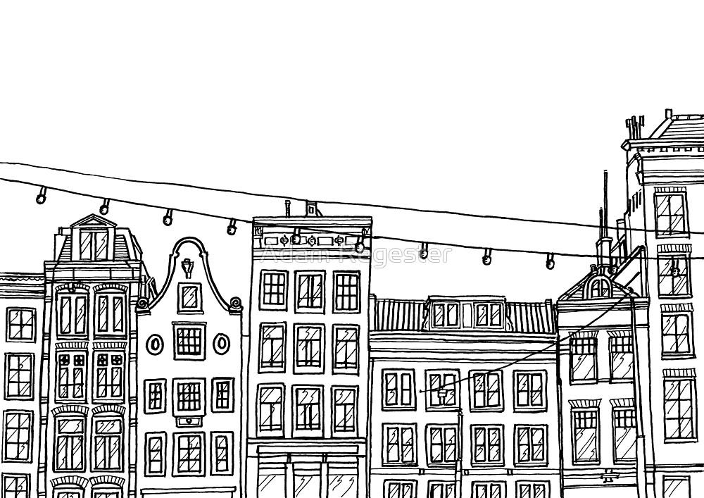 Amsterdam Houses by Adam Regester