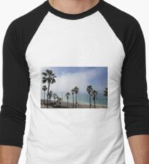 CARLSBAD CALIFORNIA Men's Baseball ¾ T-Shirt