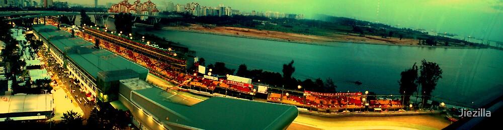 """Up the Flyers """"Singapore"""" by Jiezilla"""