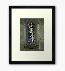 Window #3 - East Witton Church. Framed Print