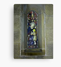 Window #3 - East Witton Church. Metal Print