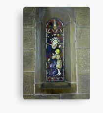 Window #3 - East Witton Church. Metal Print