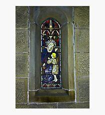 Window #3 - East Witton Church. Photographic Print