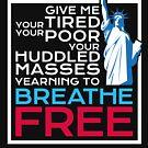 Schaffen Sie ICE-Träumer DACA Immigrant Freiheitsstatue Pro Immigration Gifts ab von everydayjane