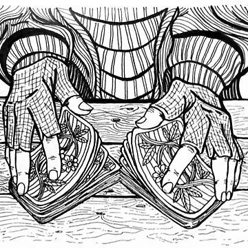 shuffling hands by Kiluvi