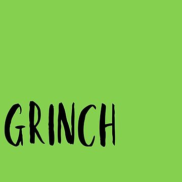 Grinch by nyah14