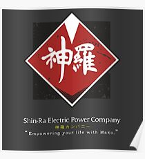 Shin-Ra Company / Final Fantasy VII Poster