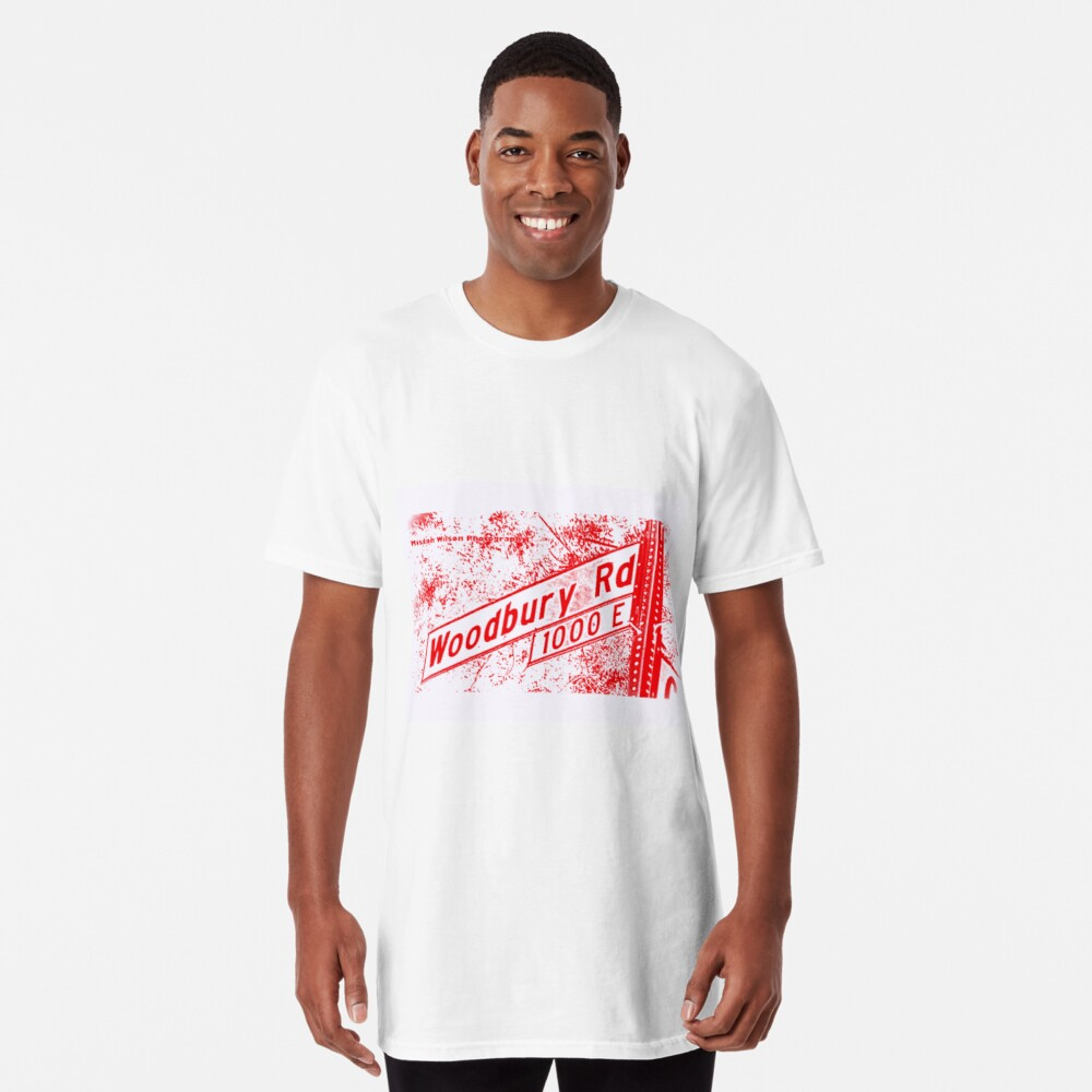Woodbury Road WHITE CHERRY Altadena California by Mistah Wilson Photography Long T-Shirt