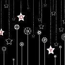 JOY - Christmas card by Colleen Milburn