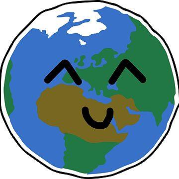 Cute Earth by pda1986
