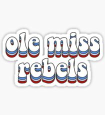 Ole Miss Rebels Sticker