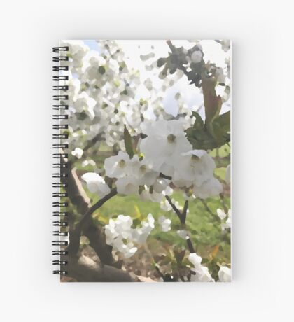 Hanami Spiral Notebook