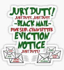 Christmas Mail Sticker