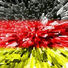 Extruded Flag of Germany by Dr-Pen