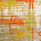 A Splash Of Citrus Grunge Abstract by taiche