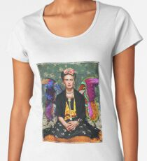 Frida Kahlo Frauen Premium T-Shirts
