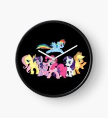 The Ponies Clock