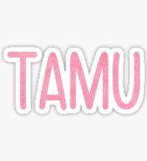 TAMU Sticker