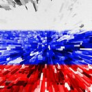 Extruded Flag of Russia by Dr-Pen