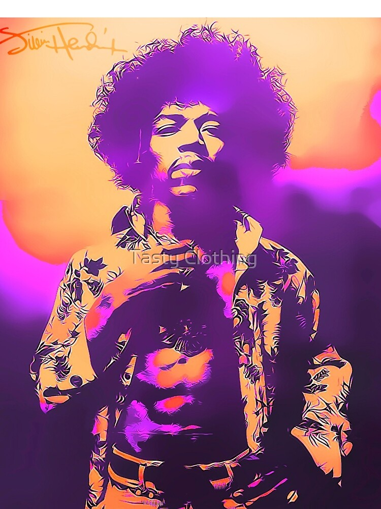 Purple Haze Jimi by Deadscan